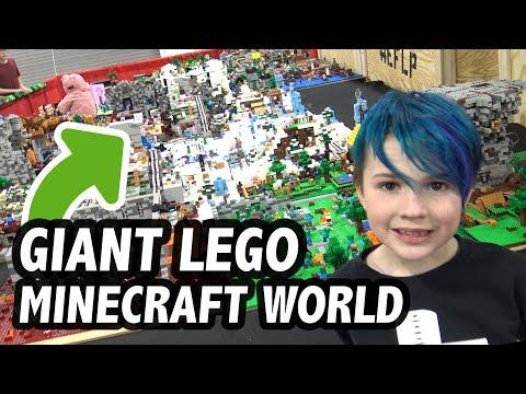 MASSIVE LEGO Minecraft World (2019 Update)