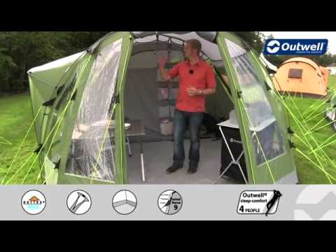 Outwell Nevada MP Tent 2013 - C&ingWorld.co.uk & Outwell Nevada MP Tent 2013 - CampingWorld.co.uk - YouTube