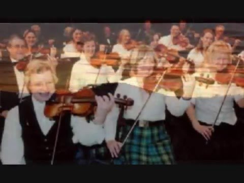 THE WILD ROSE OF THE MOUNTAIN John Mason  SCOTTISH FIDDLE ORCH 1