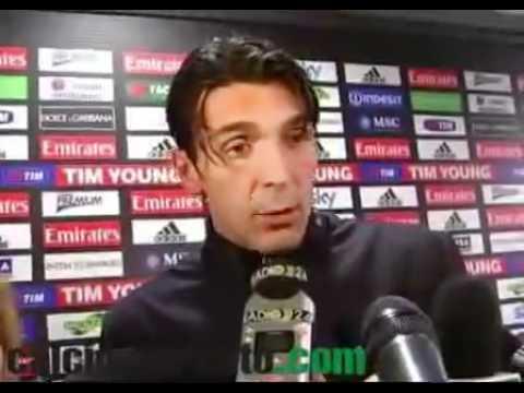 VIDEO Buffon 'Muntari? Non avrei aiutato l'arbitro'