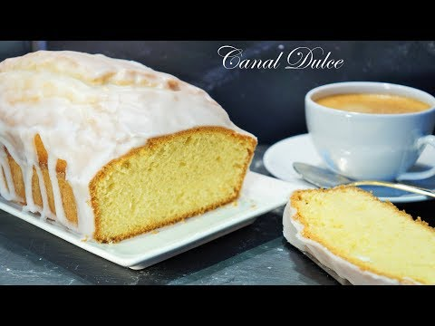 CAKE DE LIMÓN CON GLASEADO DE LIMÓN RECETA FÁCIL