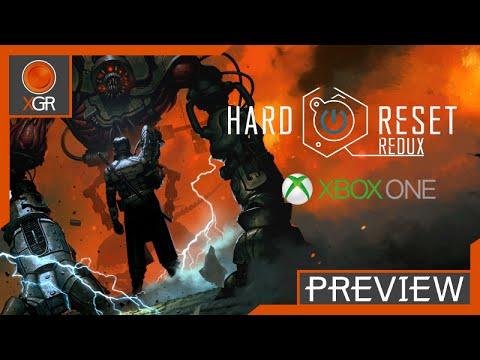 Hard Reset Redux - Xbox One Gameplay