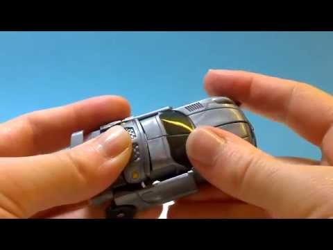 Jazz Autobot from Transformers Pontiac Solstice Toy Review-爵士变形金刚