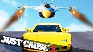 JUST CAUSE 3 MULTIPLAYER ESCAPE THE JET!!! :: Just Cause 3 Multiplayer Funny Moments!