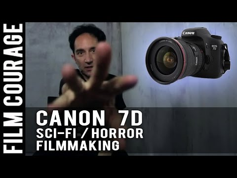 Canon 7D: Shooting A Sci-Fi Horror Film BTS (Lenses Included) by Christopher Moonlight