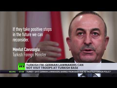 Turkey wants 'positive steps' from Germany to allow visits to Incirlik base