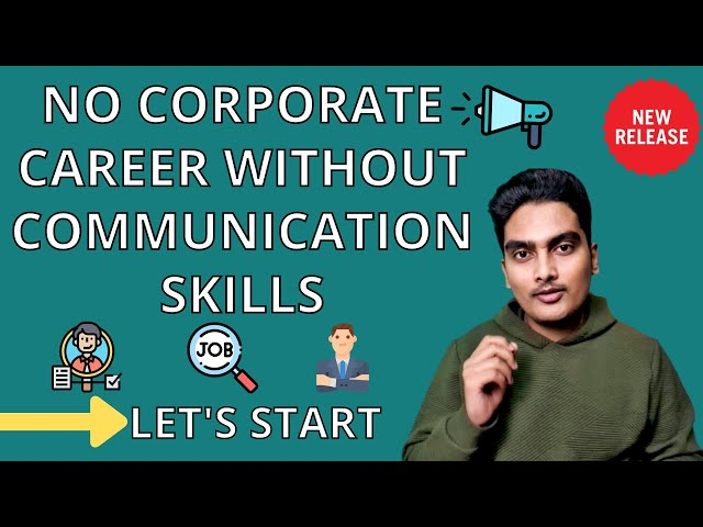 ⚡️No Corporate Career without Communication Skills | MBA Profile Building