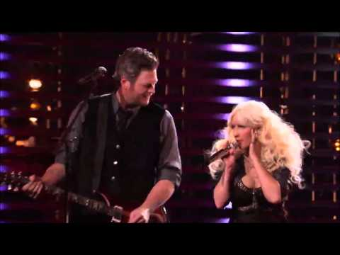 Christina Aguilera, Pharrell, Blake, Adam  - Are You Gonna Go My Way Live @ The Voice
