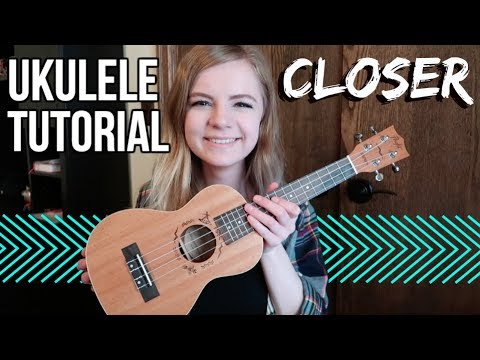 Closer - The Chainsmokers feat. Halsey | EASY UKULELE TUTORIAL