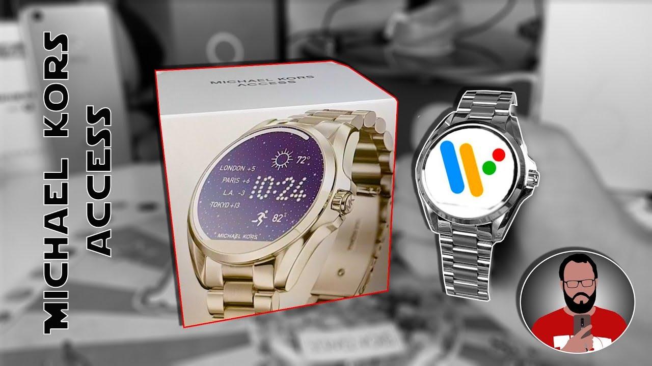 Michael Kors Access Découverte Dune Smartwatch Premium