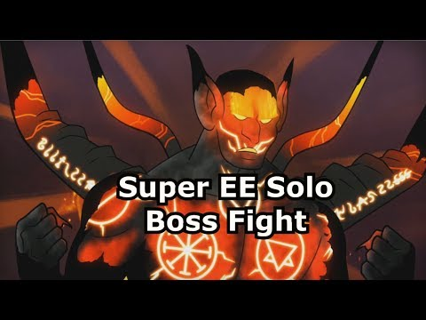 Super Easter Egg Devil Boss Fight Solo IW Zombies