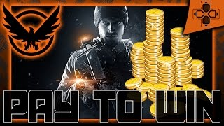 The Division | Microtransactions | Pay to Win | Free to Play | Data-Mine Leak