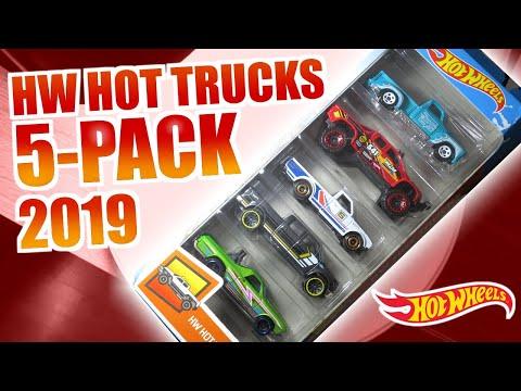 Hot Wheels HW Hot Trucks 5-Pack (2019)