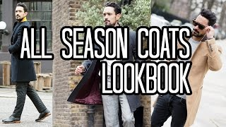 All Season Coat Lookbook | Men