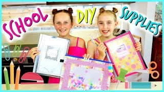 DIY School Supplies - Back to School 2017. How to Decorate your Supplies!