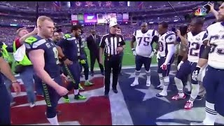 Super Bowl 49 Coin Toss Mishap