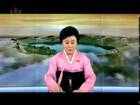North Korean TV report on Inter-Korean summit