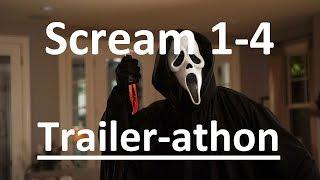 Scream Movie Trailers 1-4 (Trailer-athon Series) Wes Craven