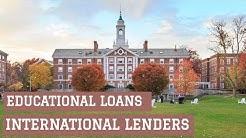 Education Loan from International Lenders | MBA/MS