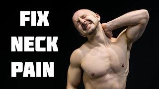 Fix Neck Pain Fast | Stiff Neck Stretches & Exercises