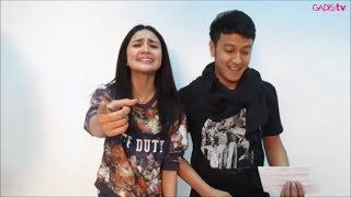 Dimas Anggara Nyanyi bareng Michelle Ziudith