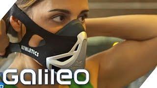 Die Power-Atem-Maske: Was steckt dahinter?   Galileo   ProSieben