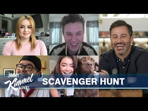 Modern Family Kids Virtual Scavenger Hunt