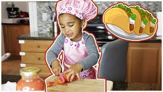 GROCERY SHOPPING AND MAKING TACOS WITH SAMIA