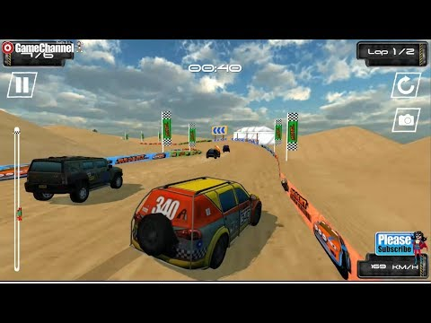 Desert Storm Racing Game / Driving Skills / Car Driver / Unity 3D Flash Gameplay Video