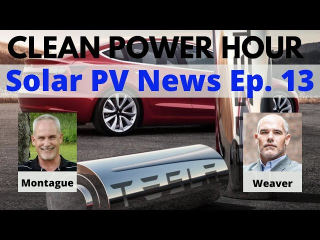 Clean Power Hour Ep.13 - The Machine That Builds The Machine