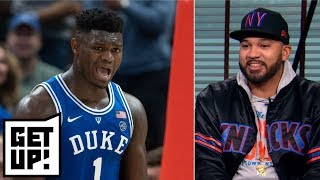 Desus & Mero hype Zion Williamson to Knicks and debate Jeter vs. Judge | Get Up!
