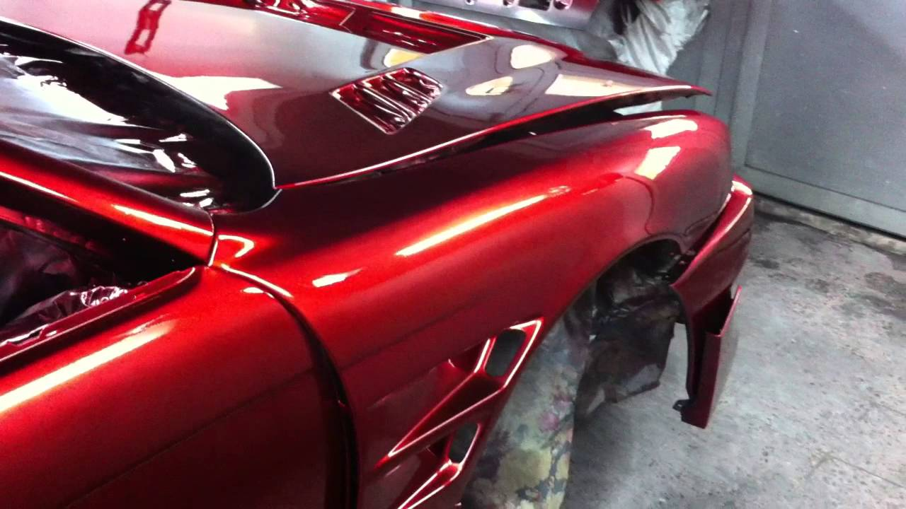 chrome candy red paint s14 wide body kouki nissan 200sx silvia. Black Bedroom Furniture Sets. Home Design Ideas