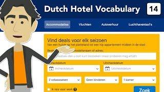 Dutch hotel vocabulary - Learn to book a hotel online... in Dutch!