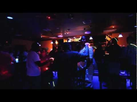 Johnny's Bar, Grand Cayman - Glow Artwork by artist Luelan Bodden.