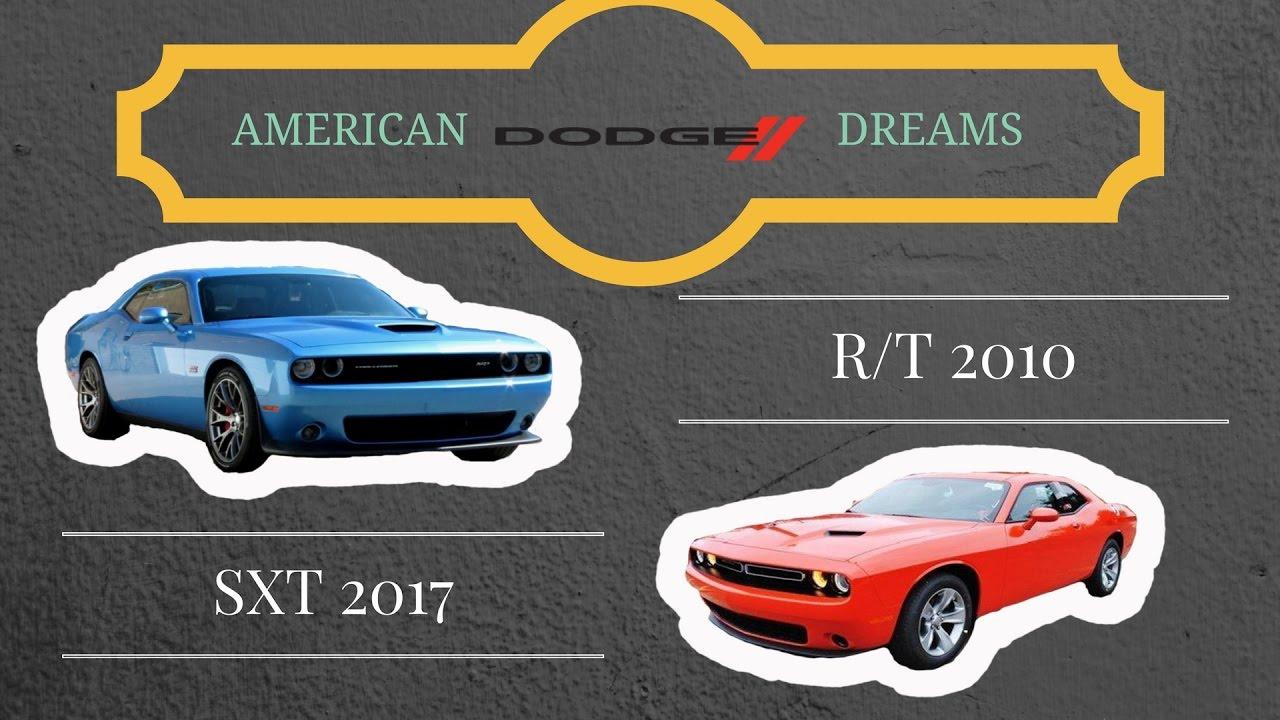 Vlog Dodge Challenger R T 2010 Vs Sxt 2017