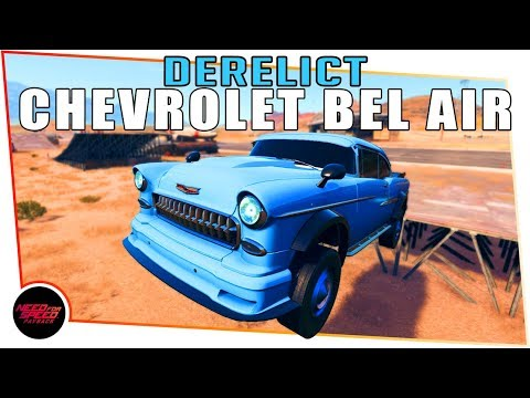 Need for Speed Payback Derelict Cars - CHEVROLET BEL AIR - Chassis Location & Parts