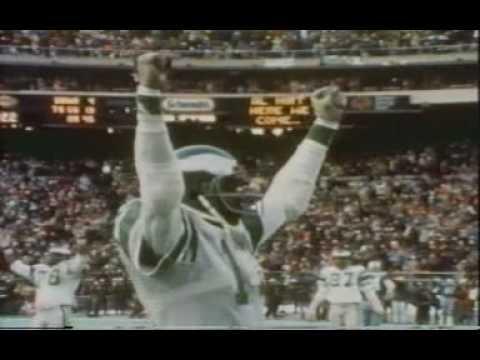 Harold Carmichael - Philadelphia Eagles WR - 1980 NFL Man of the Year