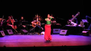 FLAMENCO INDIA - FLAMENCO DANCE, INDIAN GYPSY FOLK DANCE, OLIVER RAJAMANI