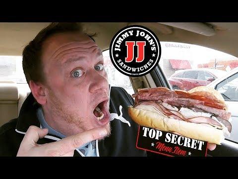 Jimmy Johns ☆NOAH'S ARK☆ LARGEST SUB Food Review!!!