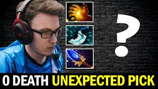 MIRACLE Unexpected Pick Carry Build -  0 Death Boss Dota 2