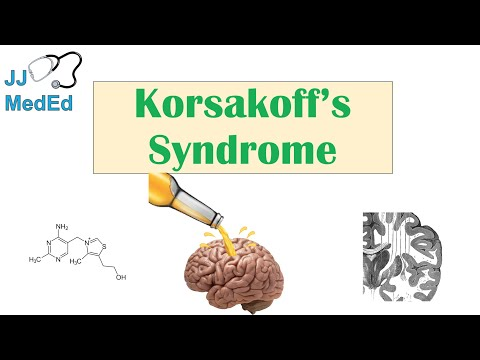 Korsakoff's Syndrome | Causes (ex. Alcoholism), Symptoms, & Possible Treatments
