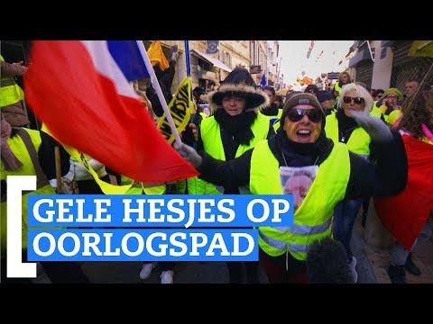'De gele hesjes haten Macron'