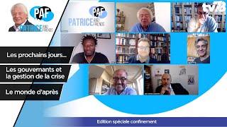 PAF – Patrice Carmouze and Friends – spéciale confinée – 7 mai 2020