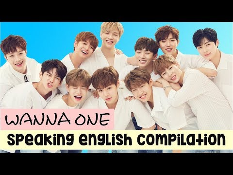 WANNA ONE SPEAKING ENGLISH COMPILATION #2