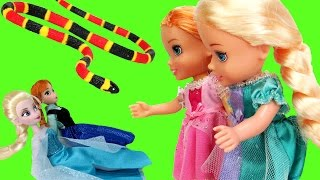 Elsa & Anna TURN small ! - Will they turn back to normal ? thumbnail