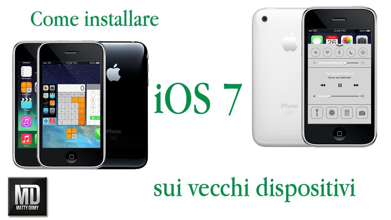 Installare Ios 7 Su Ipod Touch 1g 2g Iphone 2G 3G