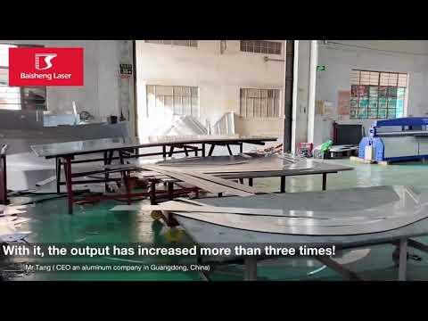 Baisheng Laser - Máquinas Tecnologia Fibra Óptica para corte de Metal ⚡️