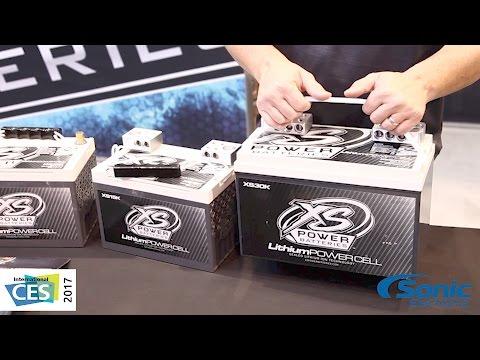 XS Power Lithium Power Cell Car Batteries | CES 2017