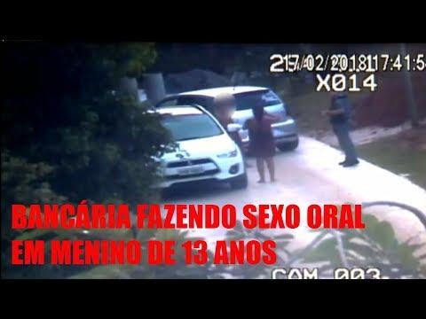 VÍDEO DA BANCÁRIA FAZENDO SEXO ORAL EM MENINO DE 13 ANOS DENTRO DE CARRO DE LUXO