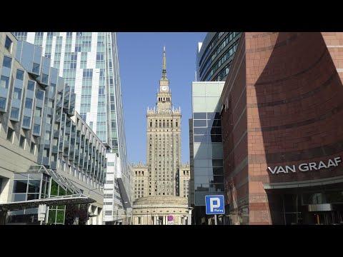 Путешествие из Варшавы в Москву поездом